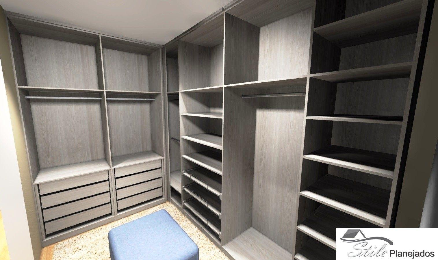 Ambiente Planejado para Closet no Sacomã - Ambiente Planejado para Closet