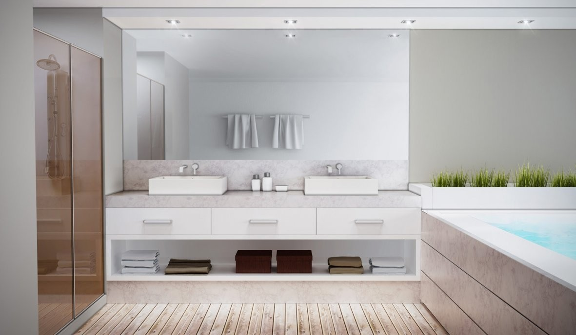 Banheiro Planejado sob Medida no Jardim Tupã - Loja de Banheiro Planejado