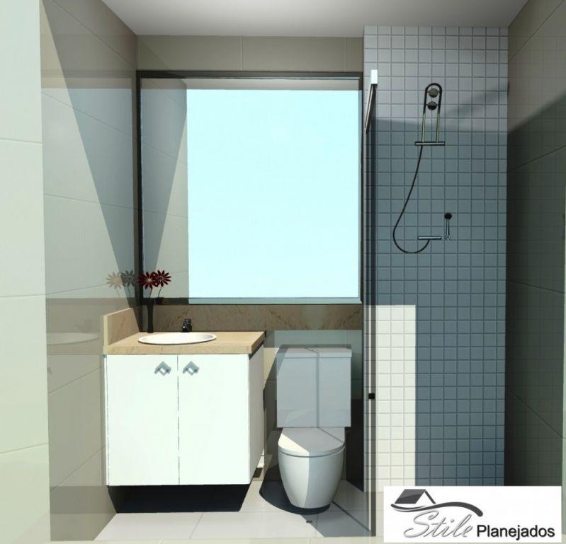 Banheiros com Móveis sob Medida no Conjunto Promorar São Luis - Banheiro Planejado
