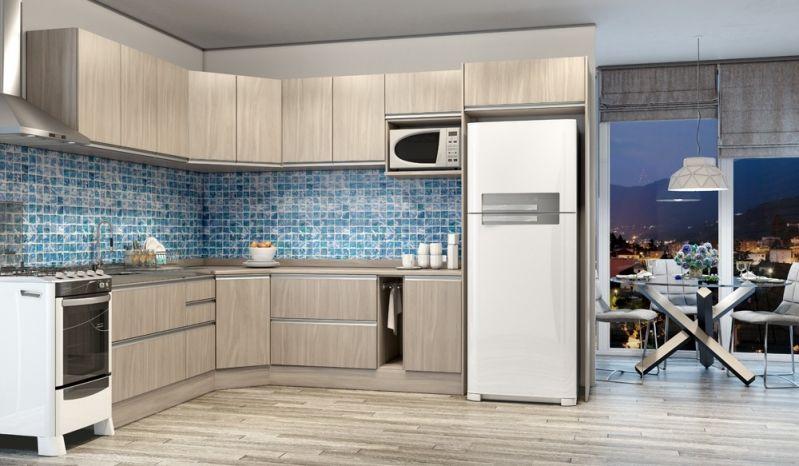 Cozinha com Móveis Planejados no Jardim São Roque - Cozinha Planejada em Sp