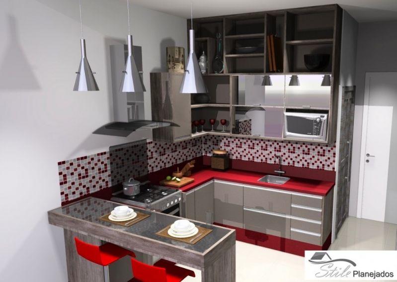 Cozinhas Planejada São Paulo em Francisco Morato - Cozinha com Ilha