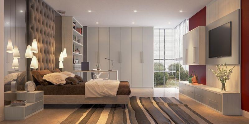 Dormitórios de Casal Planejado no Jardim Cidália - Dormitório Planejado para 3 Filhos