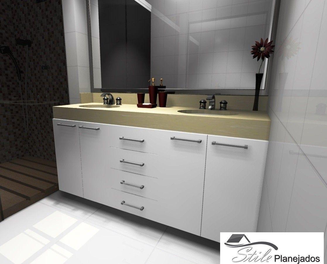 Empresa de Banheiros Planejados em Santos - Banheiro Planejado em Sp