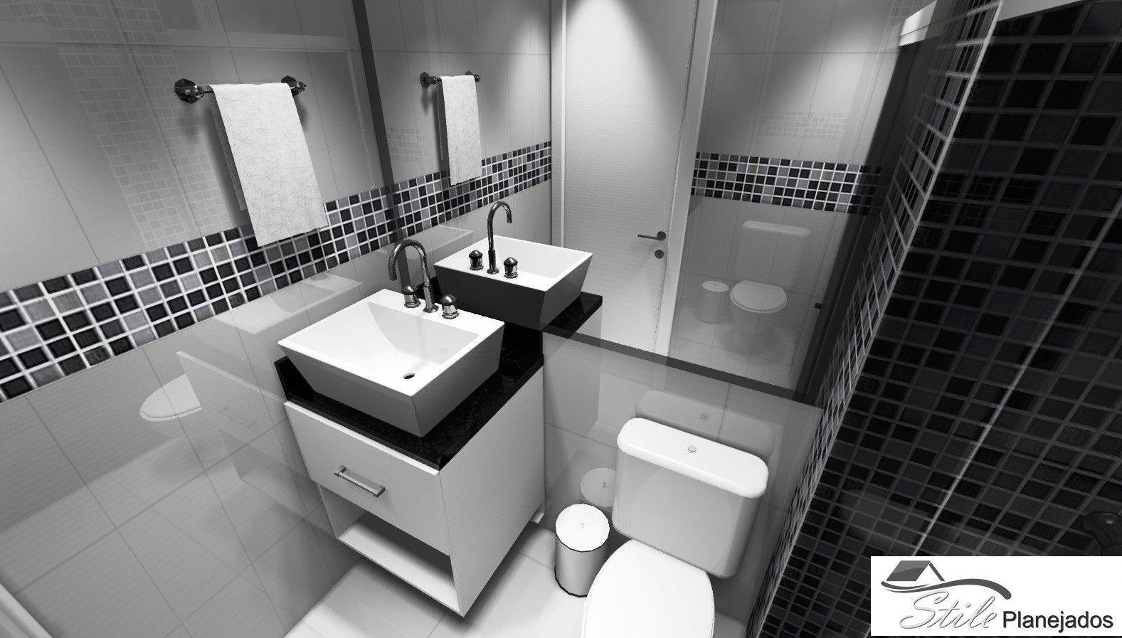 Fábrica de Banheiro Planejado Preço no Jardim Bransley - Banheiro com Móveis Planejados