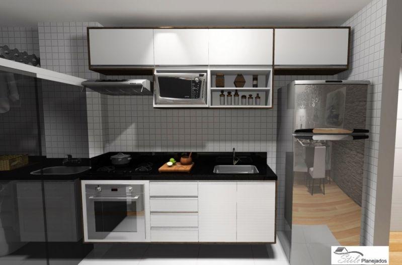 Fábrica de Cozinha Planejada Preço na Vila Nova das Belezas - Cozinha com Ilha