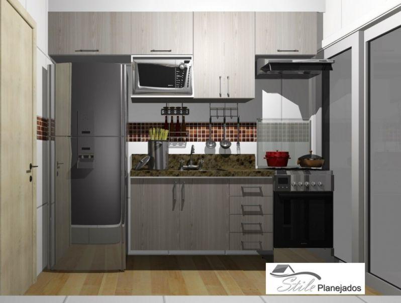 Loja de Cozinhas Planejada na Vila Clarice - Cozinha com Ilha