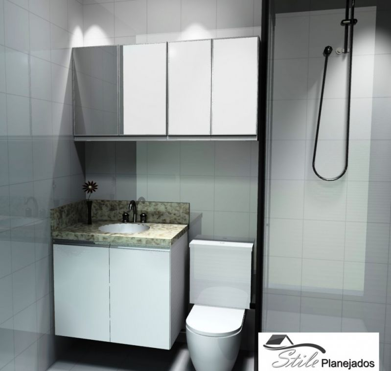 Móvel sob Medida para Banheiros no Jabaquara - Móveis sob Medida para Cozinha