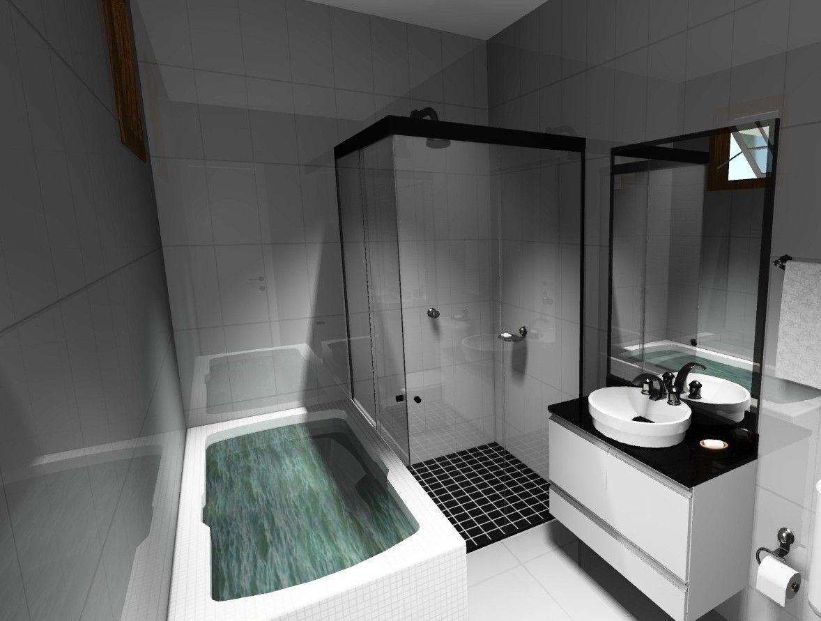 Orçamento de Banheiro Planejado sob Medida no Jardim São Joaquim - Banheiro com Móveis Planejados