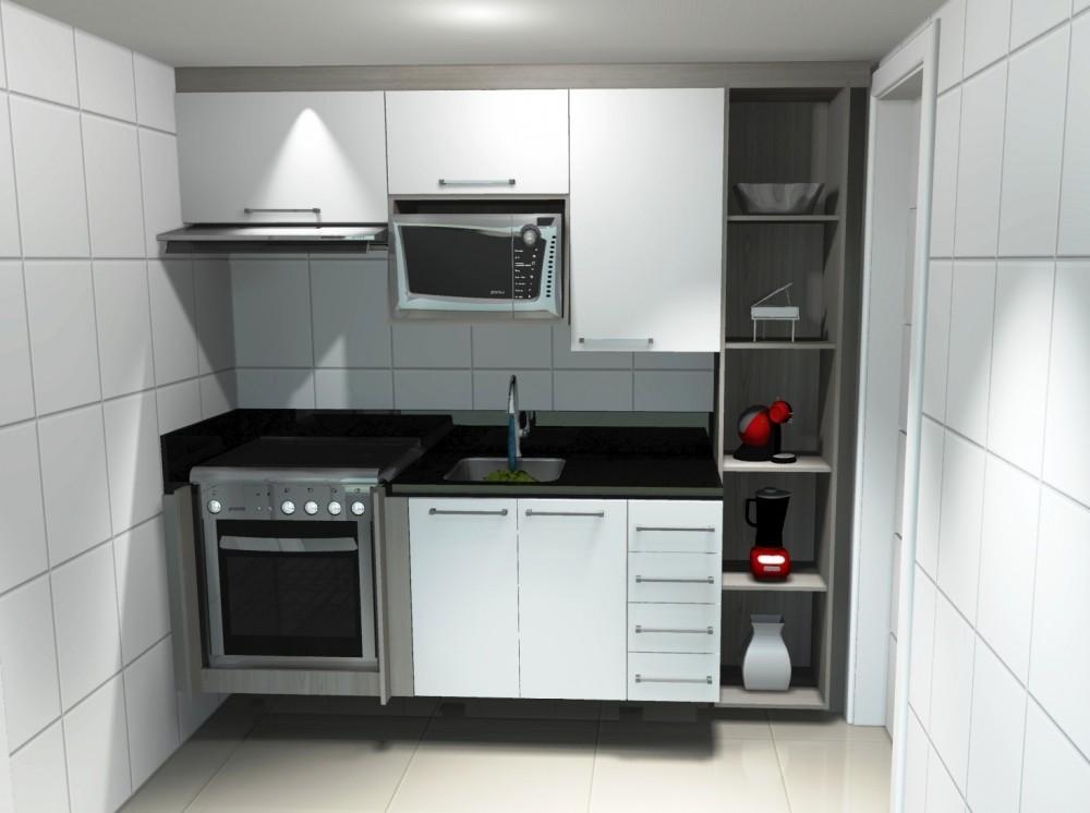 Orçamento de Venda de Cozinhas Planejadas na Vila Santa Maria - Cozinha com Ilha