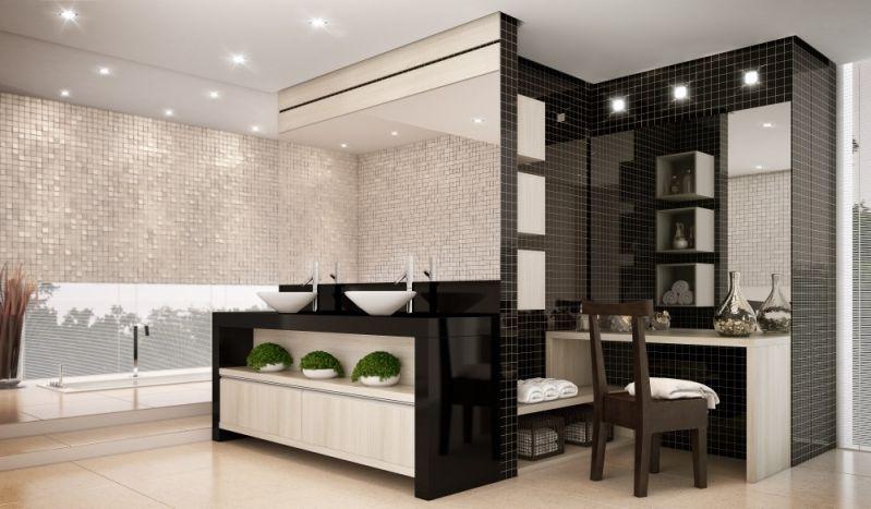 Quanto Custa Banheiro Planejado no Conjunto Promorar Vila Maria - Banheiro Planejado