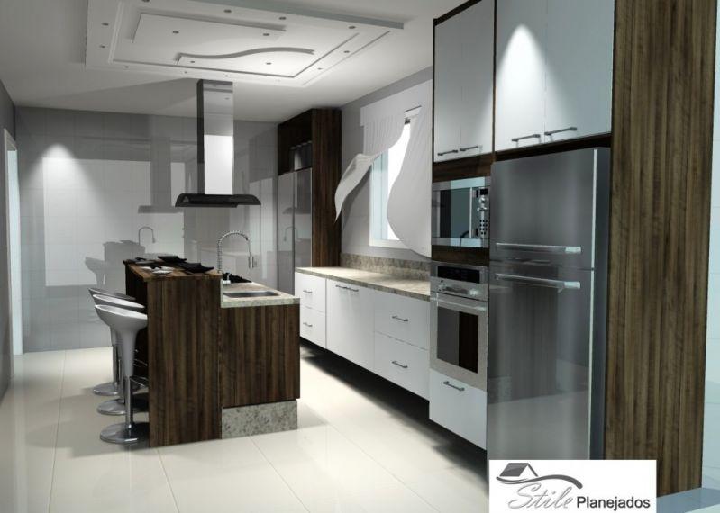 Quanto Custa Cozinha Planejada em Interlagos Vila Bela Vista - Cozinha com Ilha