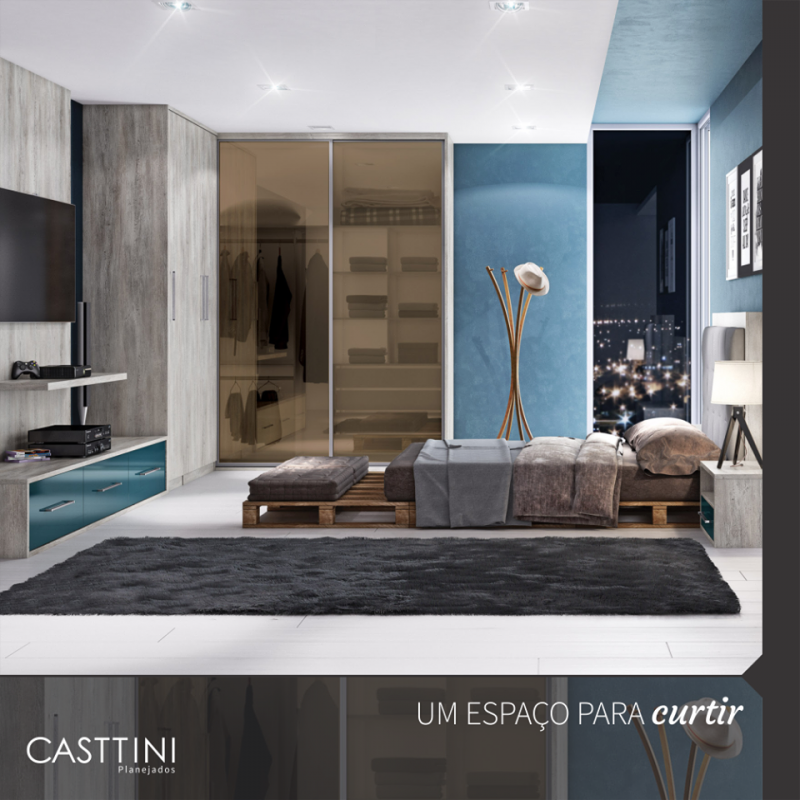 Quartos Planejado em São Paulo no Jardim Klein - Dormitório Planejado para 3 Filhos
