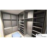 ambiente planejado para closet na Chácara Três Caravelas