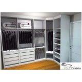 ambientes planejado para closet em Jandira
