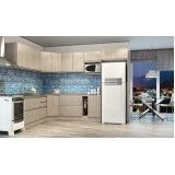 cozinha com móveis planejados Vila Bela Vista