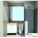 móveis sob medida para banheiros na Vila Zélia