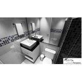quanto custa banheiro com móveis sob medida na Vila Andrade