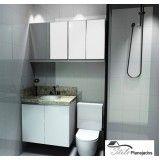 quanto custa banheiro planejado sob medida na Vila Monte Alegre