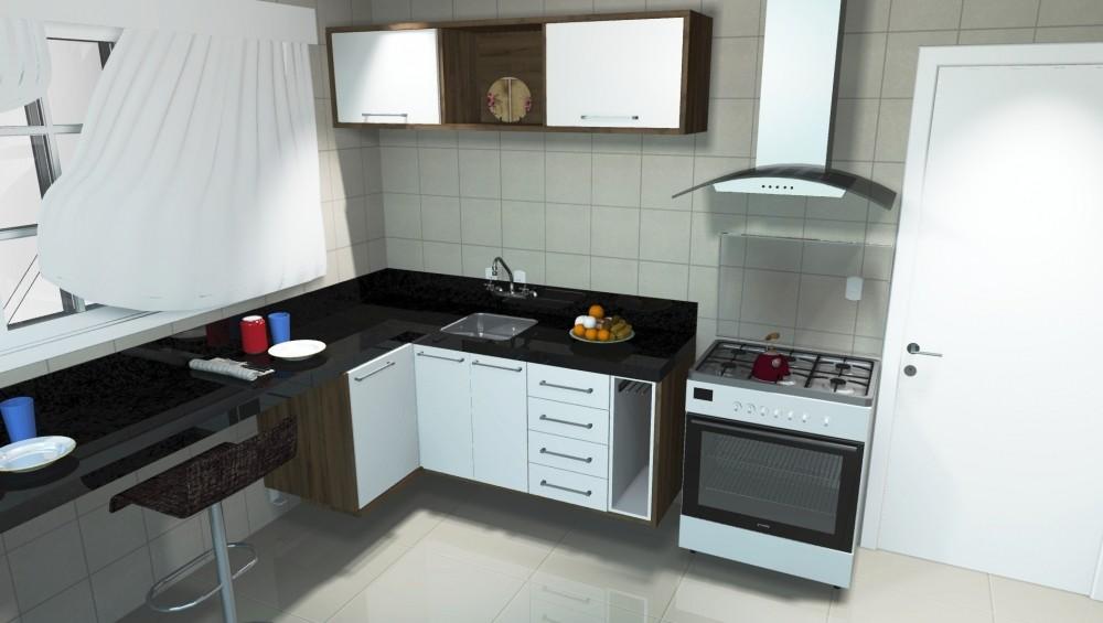 Venda de Cozinhas Planejadas Preço na Vila Maiara - Cozinha com Ilha